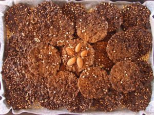 Crunchy Cacao Cookies