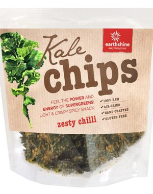 kale chips-zesty chilli