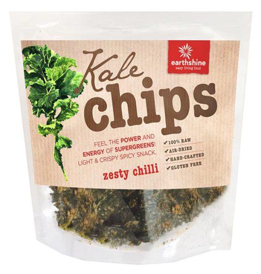 kale chips-zesty chilli