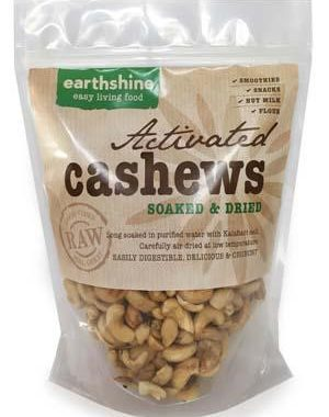 activated cashews