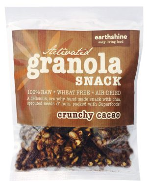 activated granola snack-crunchy cacao