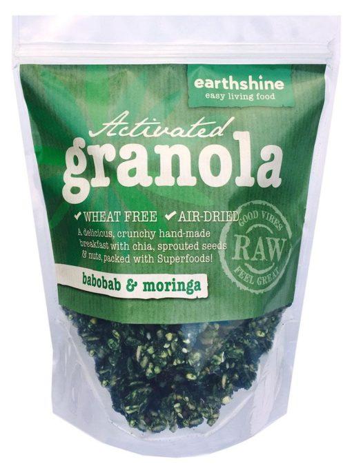 activated granola-baobab and moringa