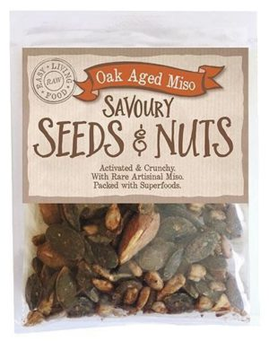 savoury seeds and nuts-oak aged miso