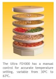 Dehydrator Ezidri Ultra FD1000