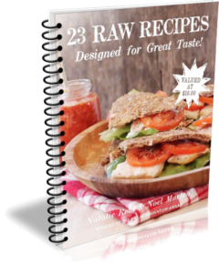 23 RAW RECIPES Designed for Great Taste! eBook Cover