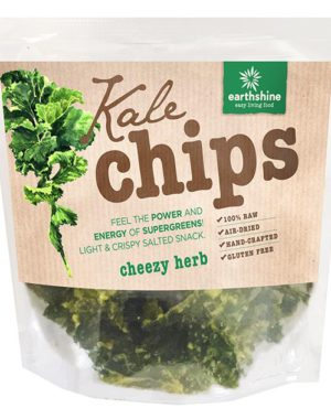 kale chips-cheezy herb