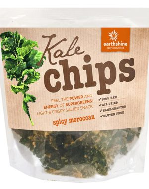 kale chips-spicy moroccan