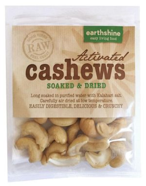 activated cashews