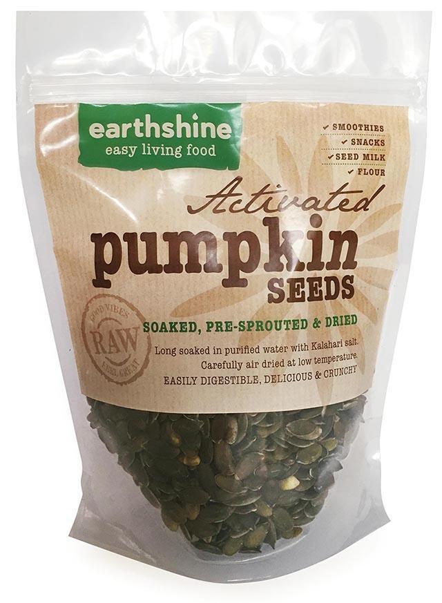 activated pumpkin seeds