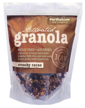 activated granola-crunchy cacao