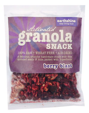 activated granola snack-berry blast