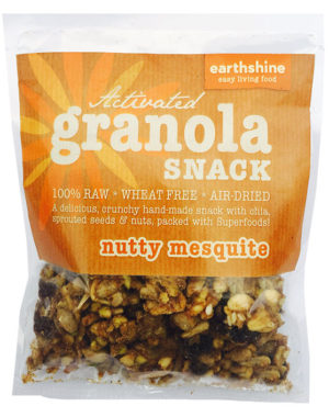activated granola snack-nutty mesquite